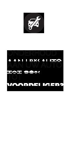 Onderhoud aan uw auto tot 20% voordeliger?