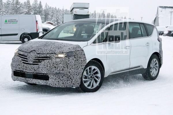 Facelift op komst voor Renault Espace