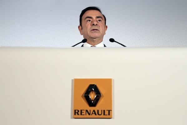 Ghosn afgetreden als topman van Renault