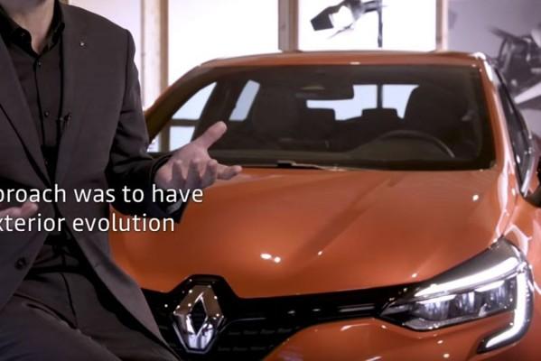 Flarden nieuwe Renault Clio opgedoken