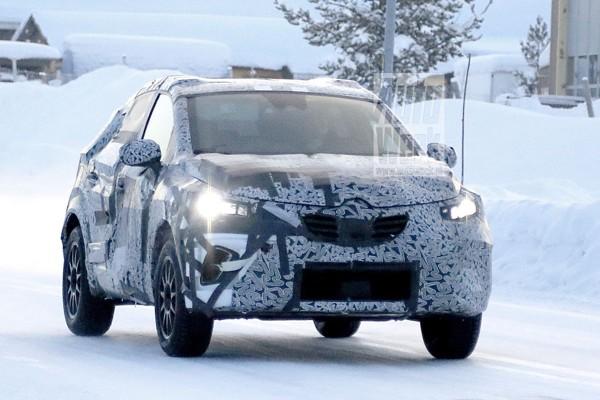 Nieuwe Renault Captur gekiekt