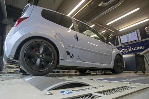 Renault Twingo RS - Op de Rollenbank