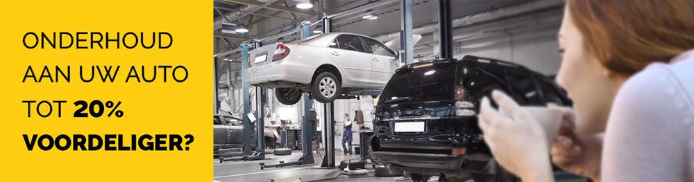 Onderhoud aan uw auto - tot 20% voordeliger?