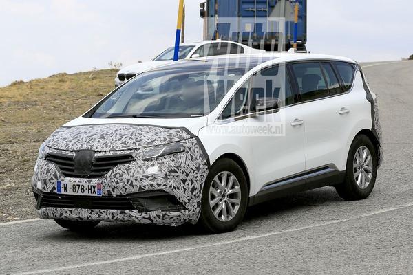 Gesnapt: Renault Espace facelift