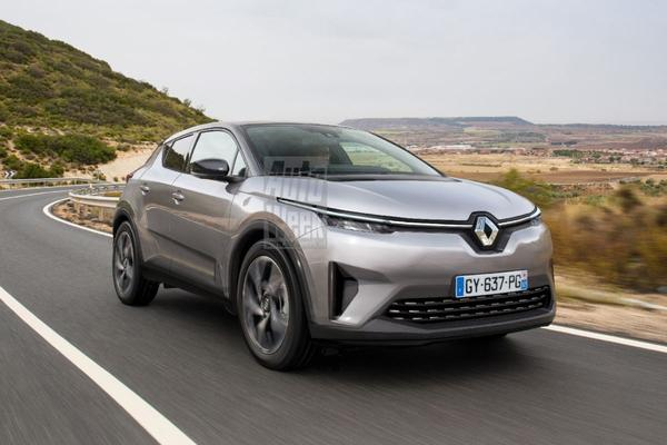 Blik to the Future: Elektrische cross-over Renault