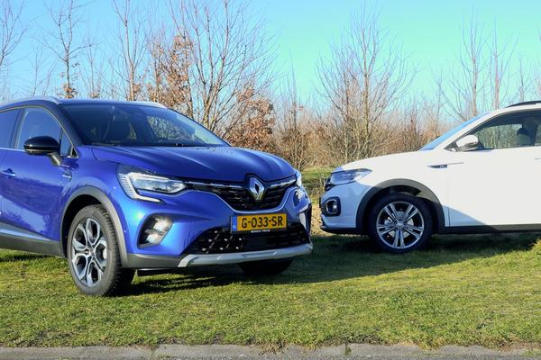 Renault Captur vs. Volkswagen T-Cross - Dubbeltest