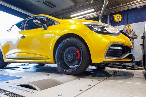 Renault Clio R.S. - Op de Rollenbank