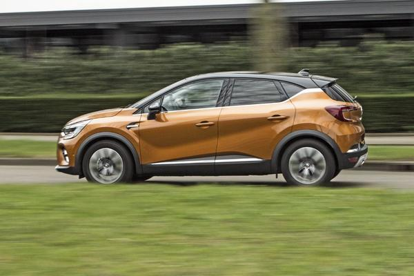Achteruitkijkspiegel – Renault Captur