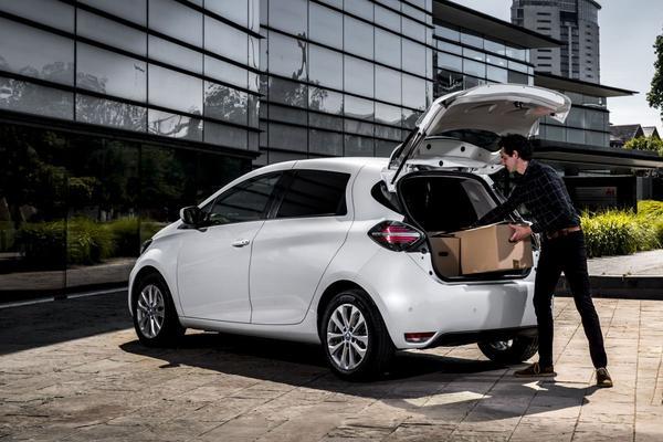 Renault Zoe Van is kleine elektrische bestelauto