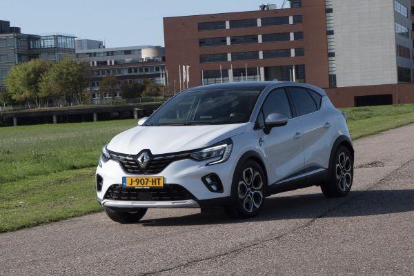 Renault Captur - Achteruitkijkspiegel