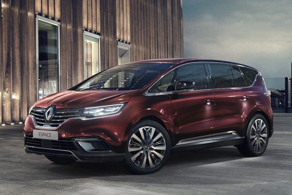 Renault Espace klaar voor 2021