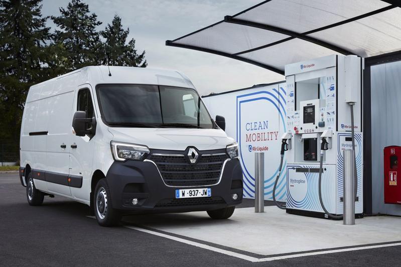 Renault Master Hydrogen komt nog dit jaar