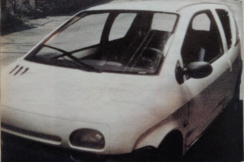 Eerste levensteken van de Renault Twingo - Uit de Oude Doos