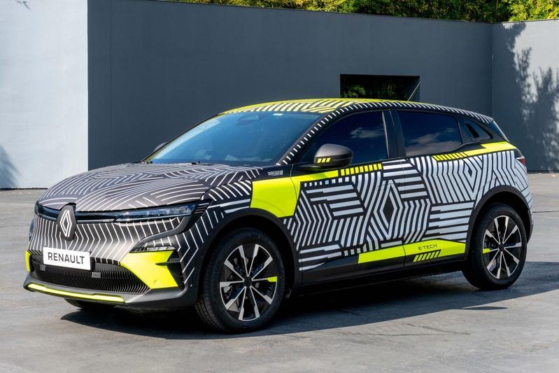 Elektrische Renault Mégane E-Tech Electric in productievorm