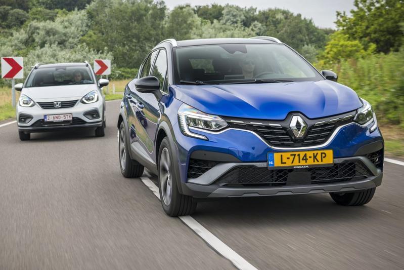 Renault Captur vs. Honda Jazz - Dubbeltest