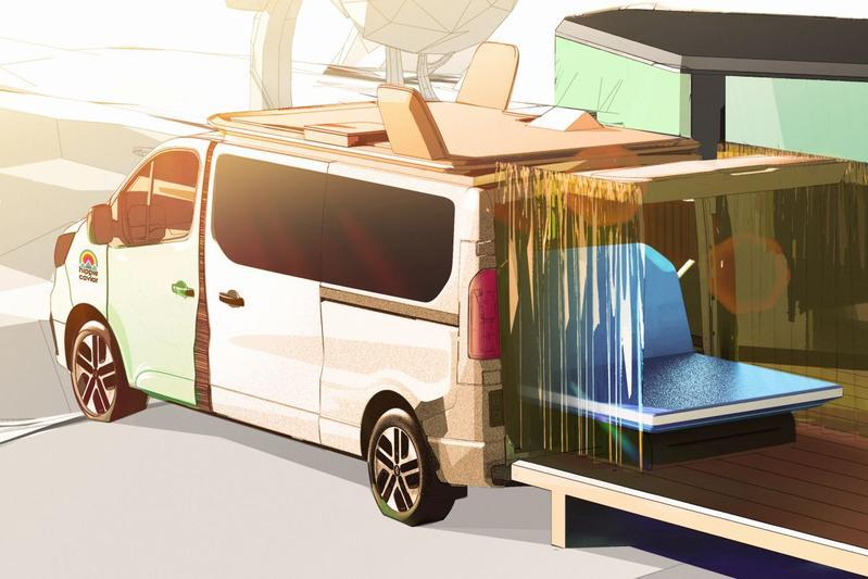 Renault komt met Hippie Caviar Hotel