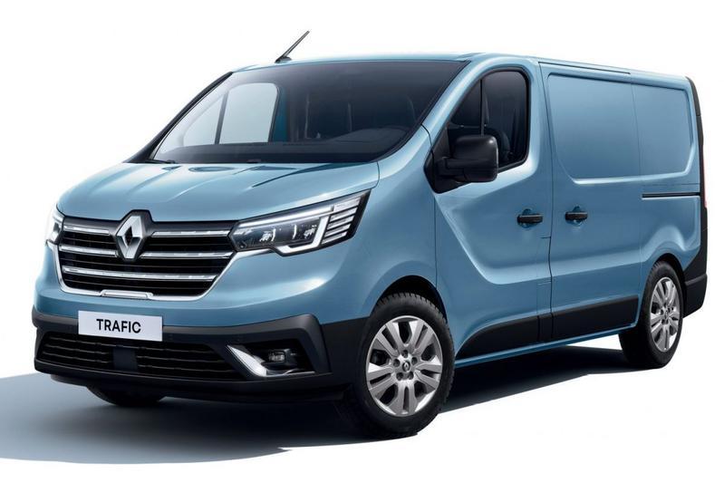Renault Trafic in bestelvorm gepresenteerd