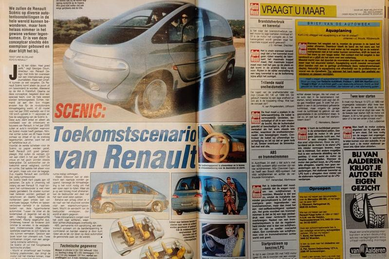 Renault Scénic Concept - Uit de Oude Doos